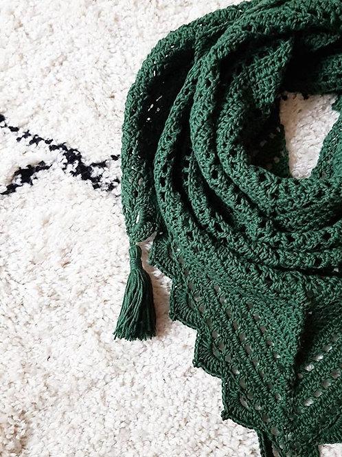 Foxtrot Shawl Crochet Pattern