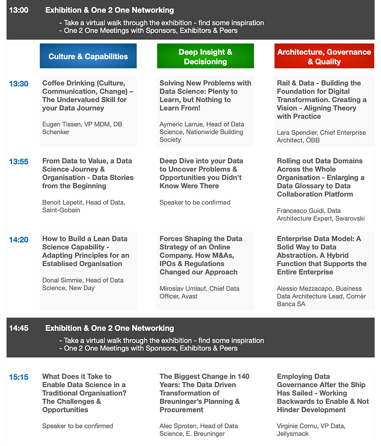 2DATA & THE MACHINE Summit - Concept Age