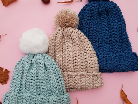 Plain Sailing Ridge Hat Free Crochet Pattern
