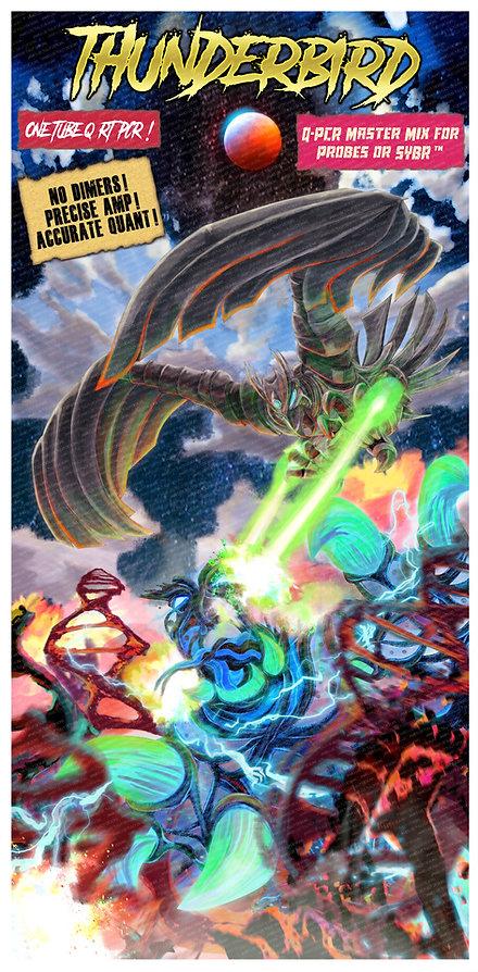 thunderbird tradeshow poster for toyobo usa