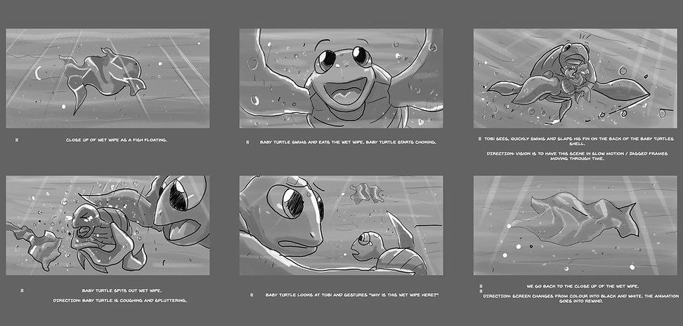 happy planet awareness anim storyboard
