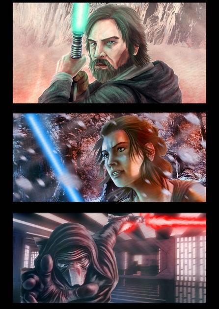 custom fan art of star wars characters