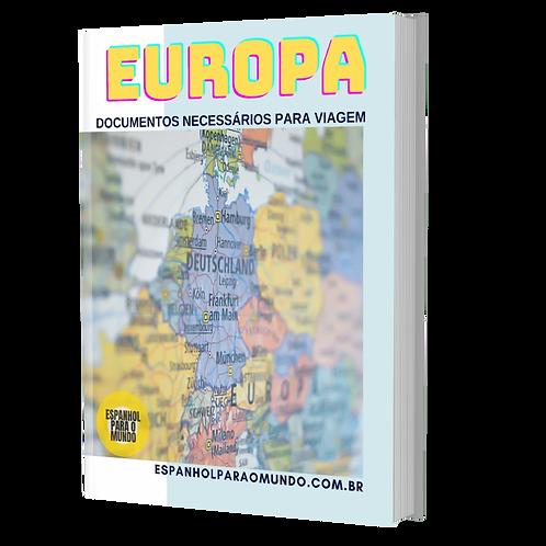 E-BOOK EUROPA DOCUMENTOS DE VIAGEM