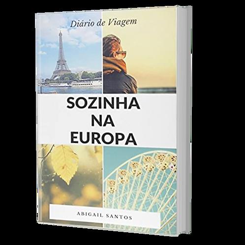 LIVRO SOZINHA NA EUROPA