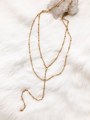 Must Have Double Layered Layering Necklace