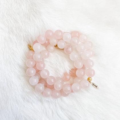 Rose Quartz Bracelet 3PK