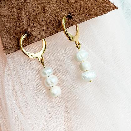 White Pearl Huggies