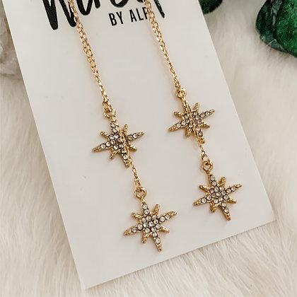 Pave Star Dangles