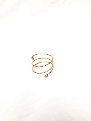 14k Gold Filled Spiral Ring