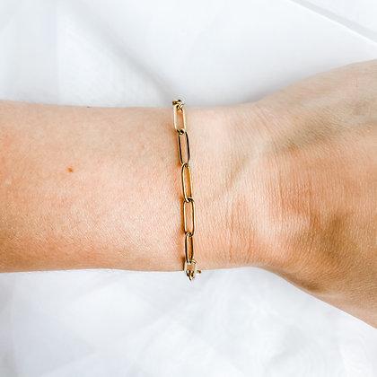 Thin Link Chain Bracelet