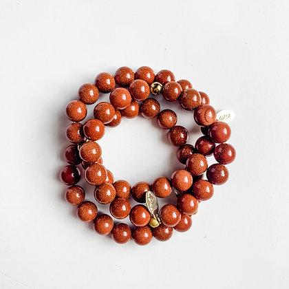 Goldstone Bracelet 3PK