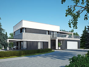 заказать визуализацию дома в москве