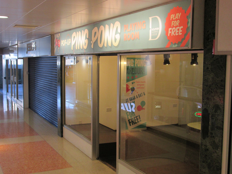 A Pop-Up Ping Pong Parlour in Poole