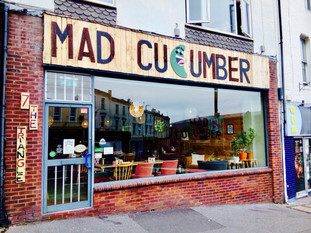 Mad Cucumber: A Heart Warming Space with a Green Gourd of Questionable Sanity