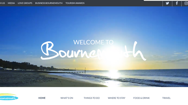 Where to go to find out what's on in Bournemouth.