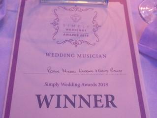 Simply Weddings Live Music Winner 2018