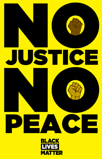 No Justice, No Peace TALL
