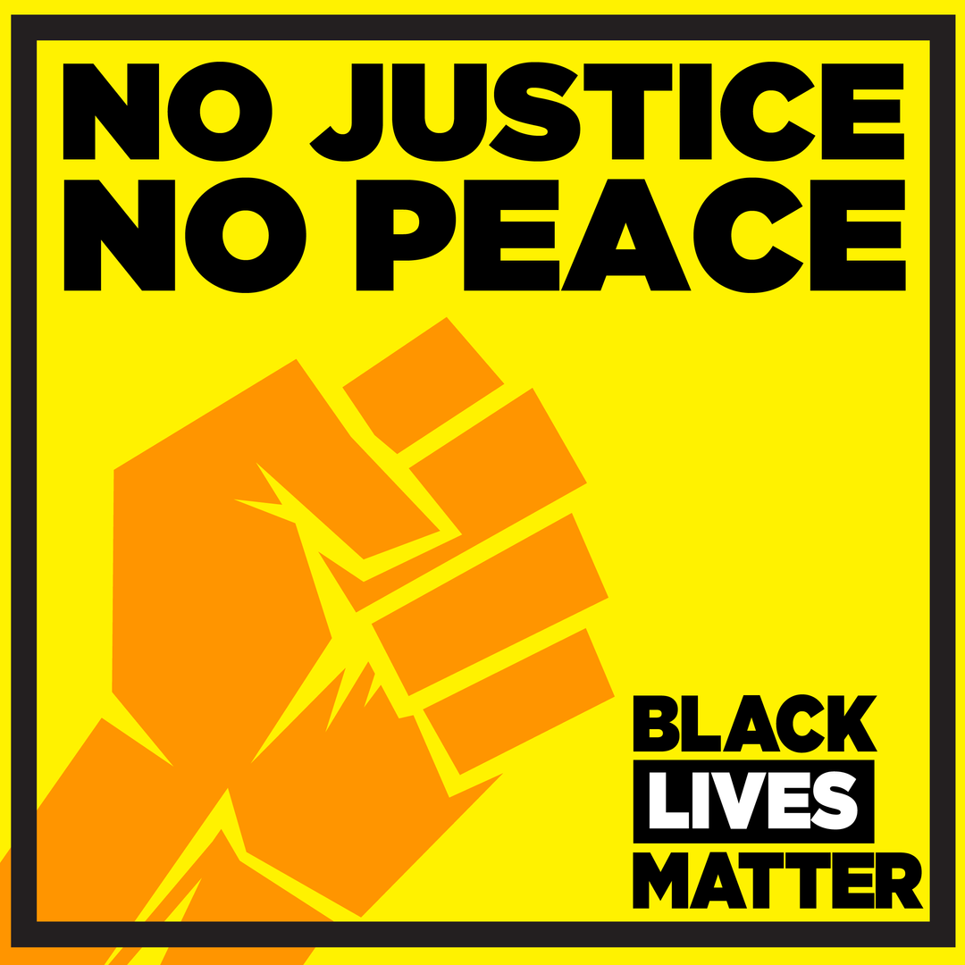 No Justice, No Peace-Fist