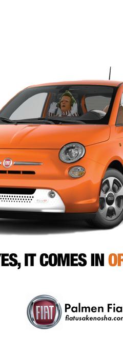 Print ad, car dealership