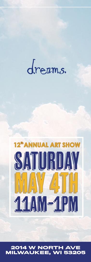 Commemorative event poster, non-profit fundraiser event