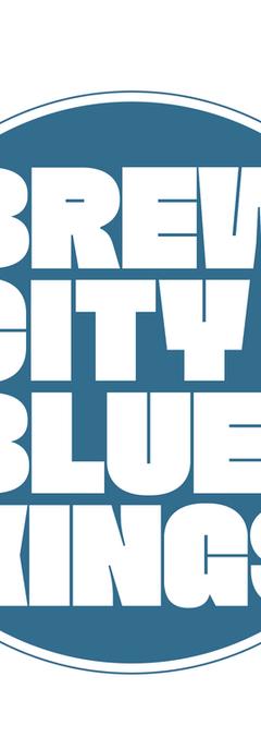 Blues band logo design