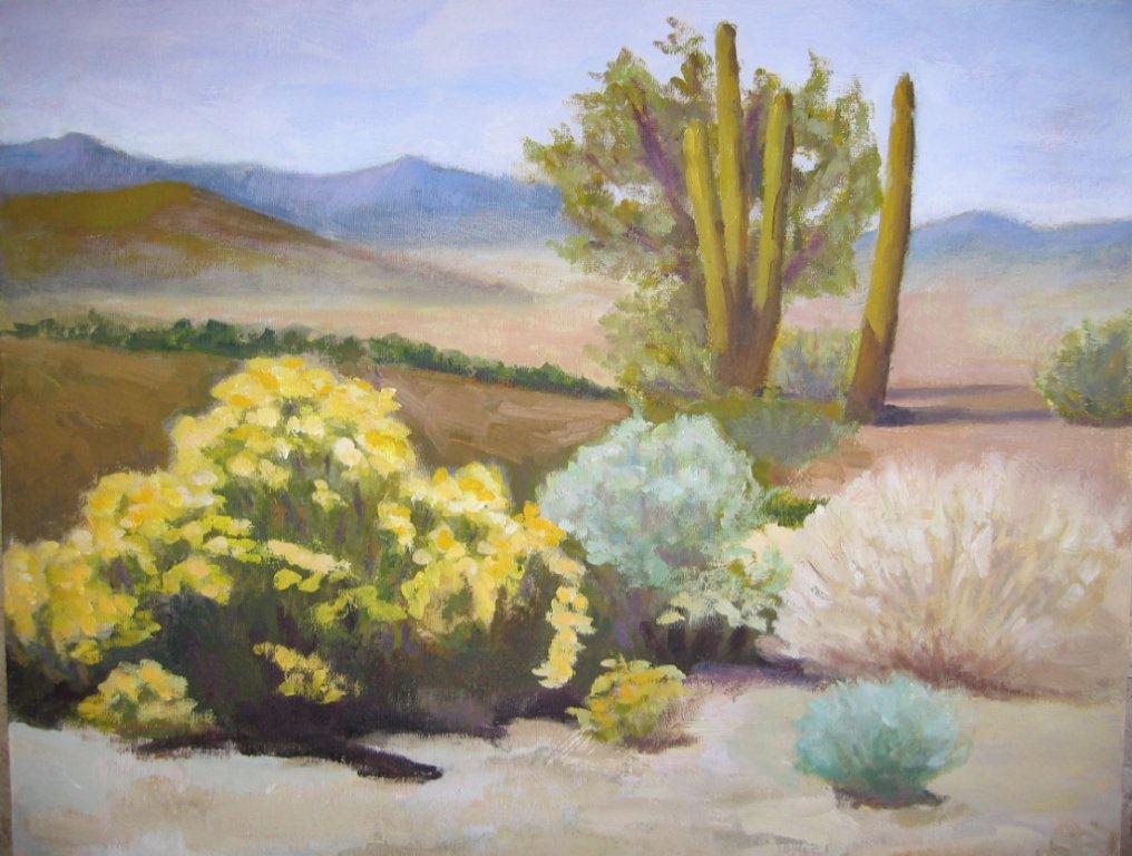 -Blooming Desert
