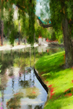 Valois_Spring Reflections