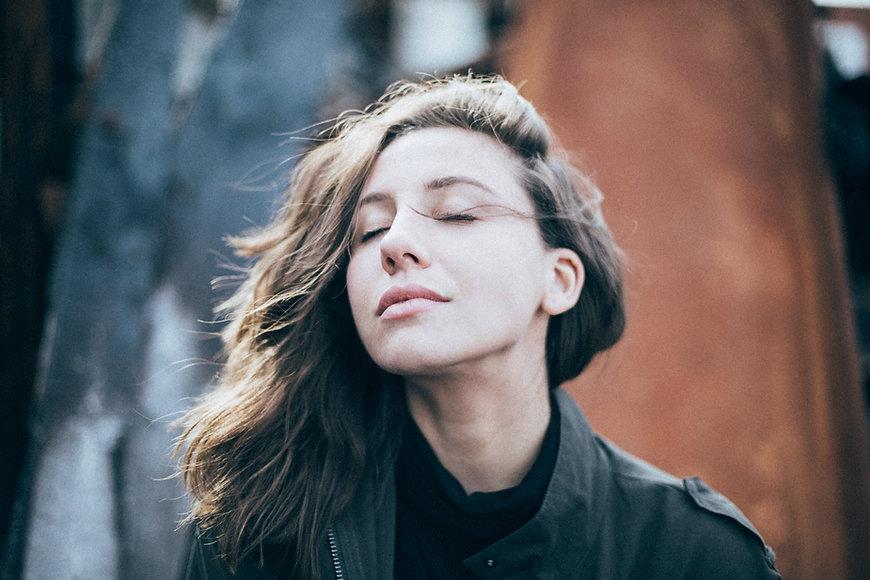 Woman Posing