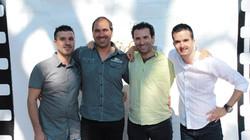 Salvador Carol, Ramon Godino, José M. Serrano y Joaquim Bundó