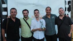 Esteve Rovira, José M. Serrano,Joaquim Bundó y Ramon Godino