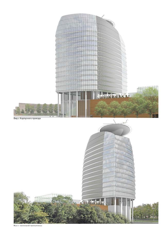 2012 Административное здание Варшавская