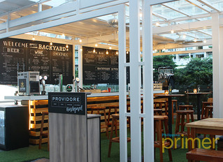 Providore Backyard in SM Aura provides a new kind of chill!