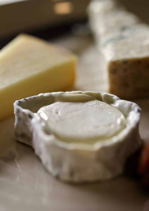 Cheeses at Rare Hare, Merricks, Victoria, Australia