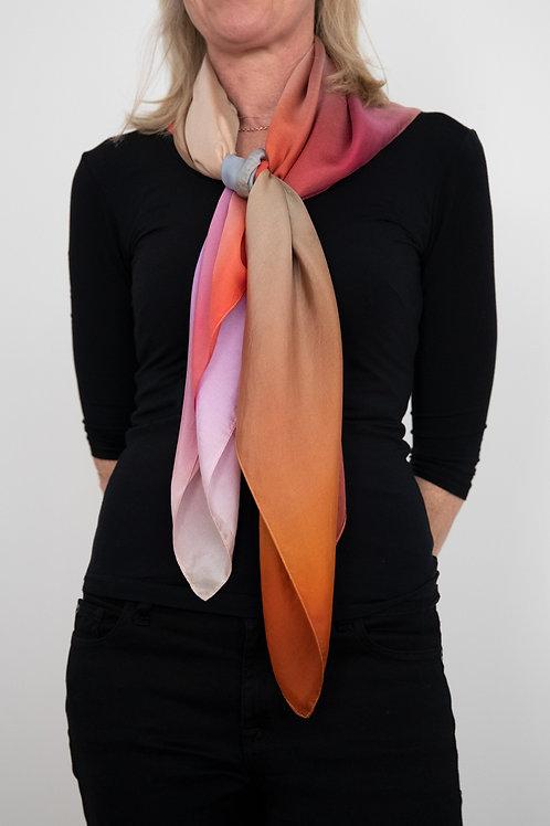 Bliss Scarf, Art Scarf, Silk Scarf, Fashion Accessory, Scarf
