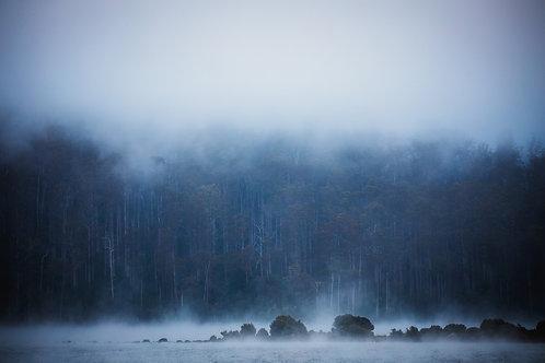 Lake series, landscape, landscape photography, blue, dreamy, calm