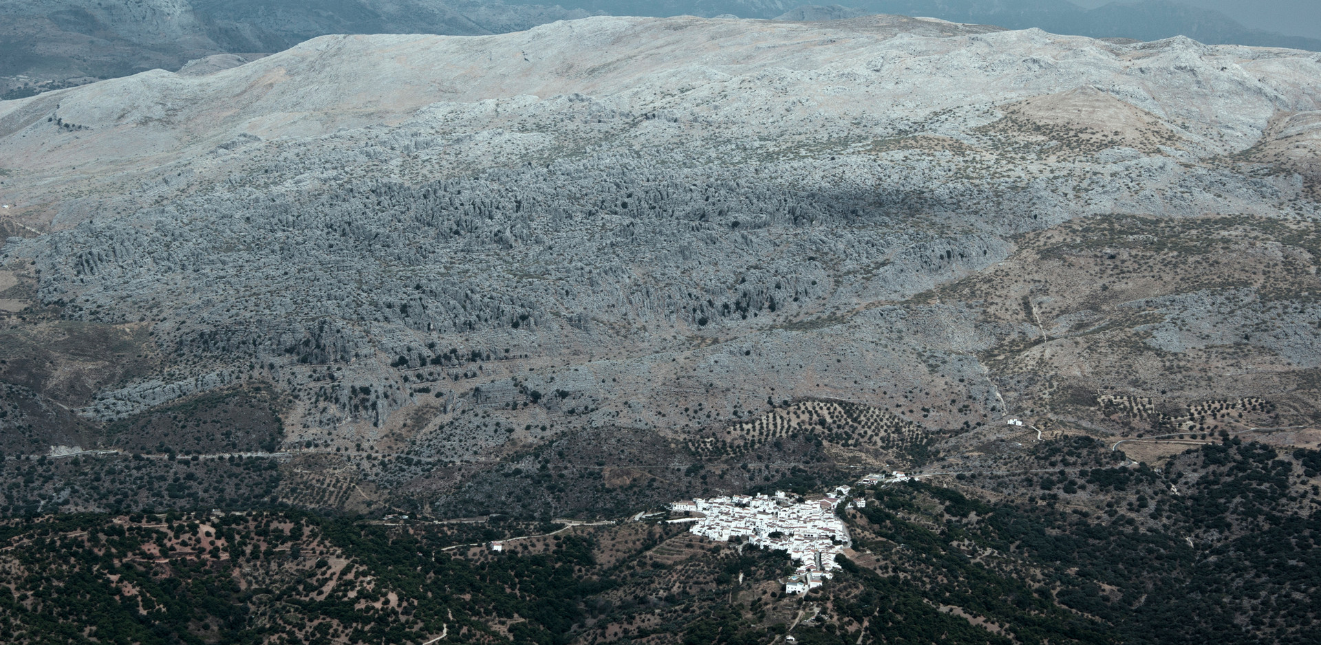 Honorable Mention in Aerial category - White Village of Andalusia