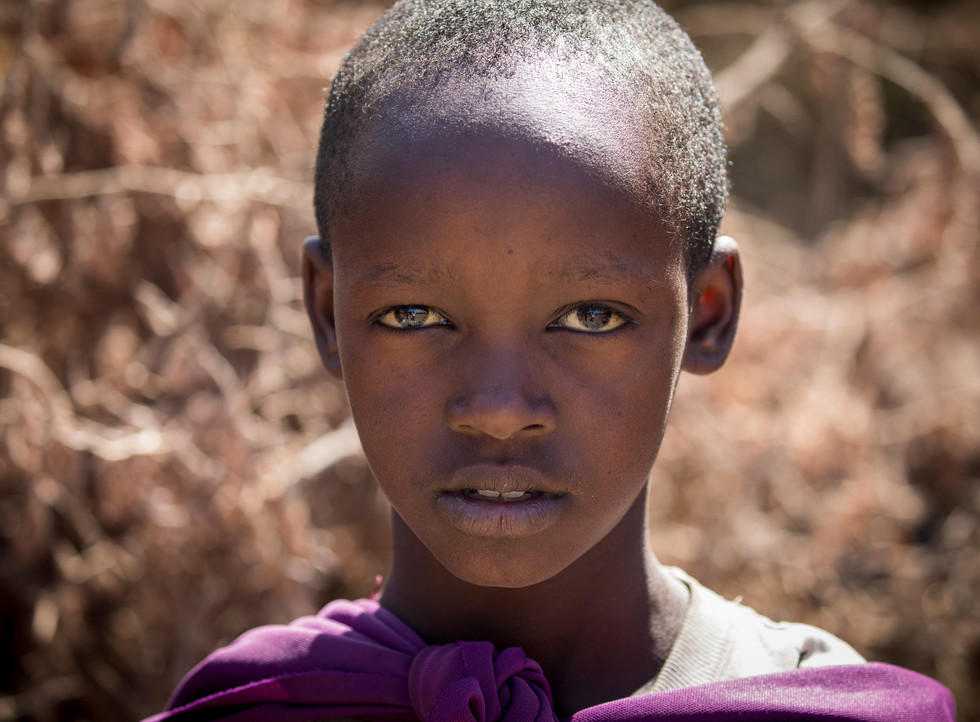 Nominee in Children of the World category - Maasai Boy