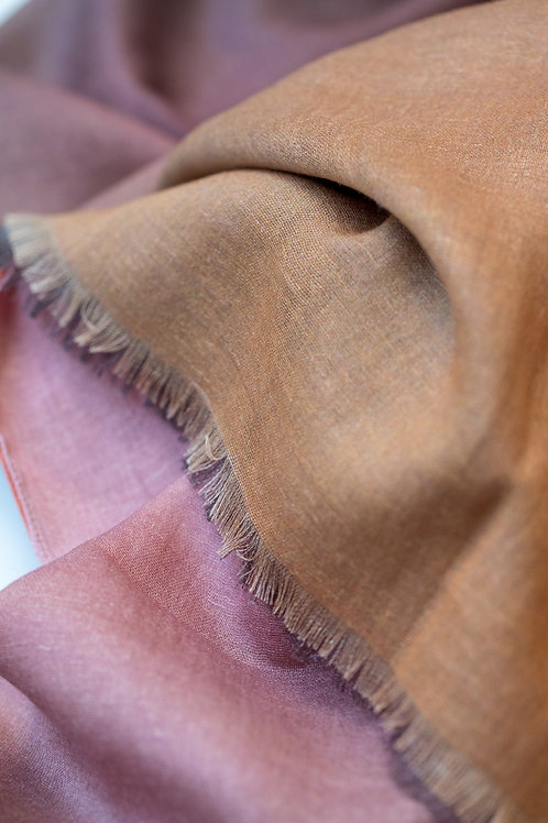 Joy Scarf cotton/linen/modal, Art Scarf, Fashion Accessory, Shawl, Wrap