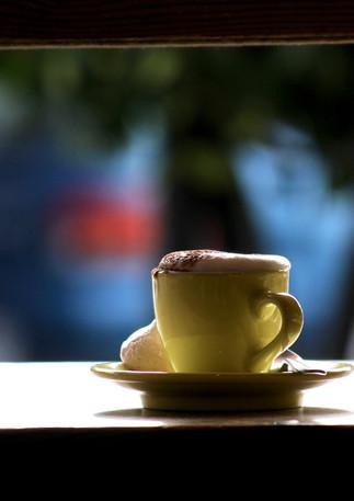Coffee, Millstone Patisserie, Melbourne, Australia