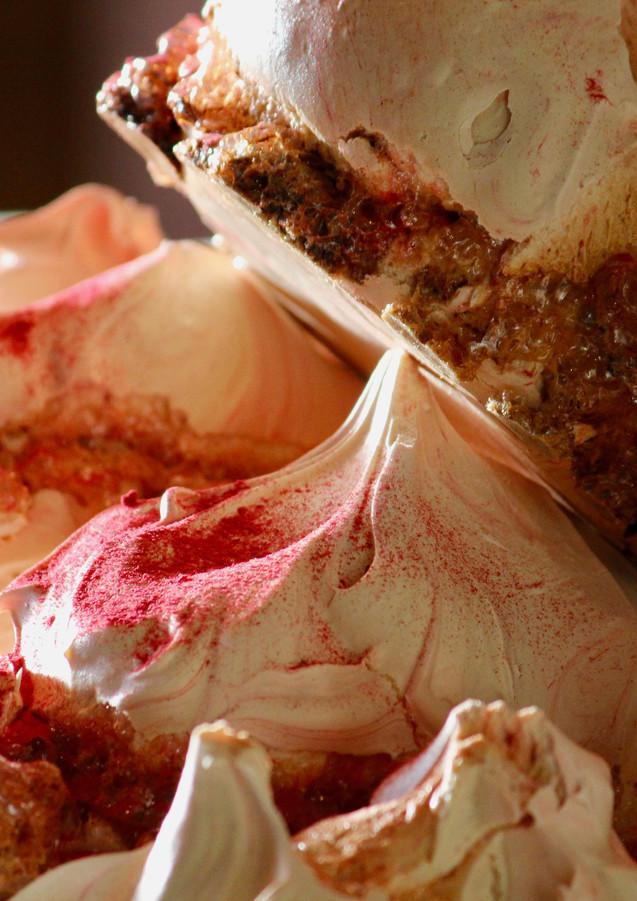 Raspberry meringues, Millstone Patisserie, Melbourne, Australia