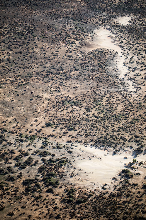 Lake Mungo 08, Aerial Photography, Landscape, Abstract