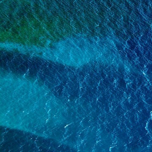 Seascape Waterscape Artwork Aerial Photography Blue Sea