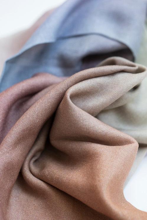Bliss Scarf cotton/linen/modal, Art Scarf, Fashion Accessory, Shawl, Wrap