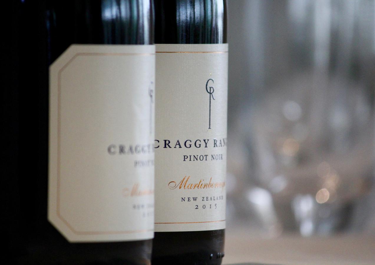 Craggy Range Pinot Noir at Sunday Lunch with Peter Kuruvita at Noosa beach House, Noosa, Queensland, Australia