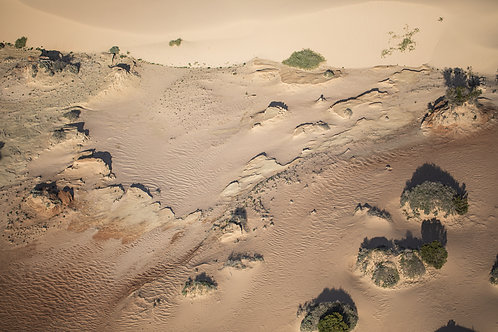 Lake Mungo 01, Aerial Photography, Landscape, Abstract