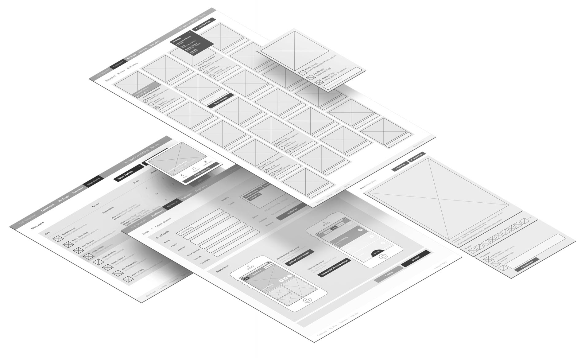Digital Wireframe