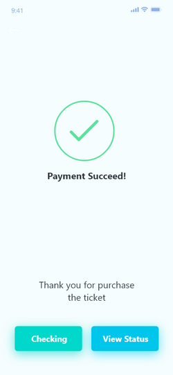 Payment success!