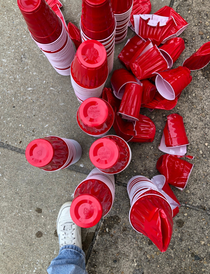 Collected Red Solo Cups