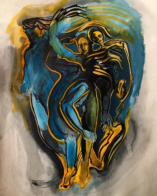 2. Blue & Gold