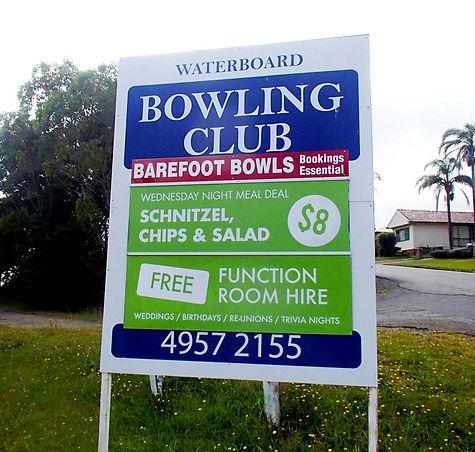 Water Board Bowling Club
